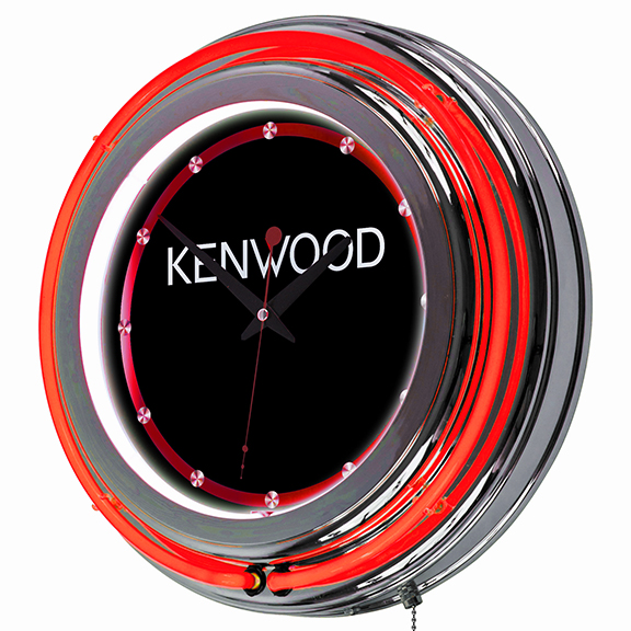 Tradeshow Packages Showroom Tradeshow Accessories Stools And Accessories Kenwood Neon Wall Clock